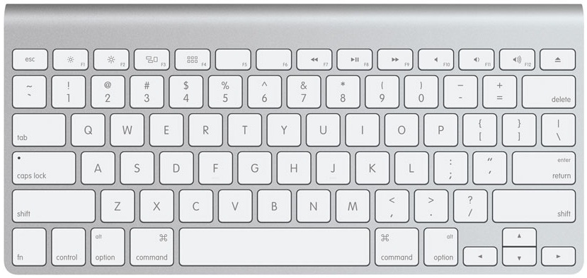 Mac layout